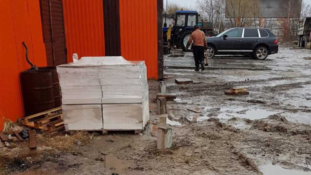 Фундамент под станцию технического обслуживания автомобилей г. Нижневартовск